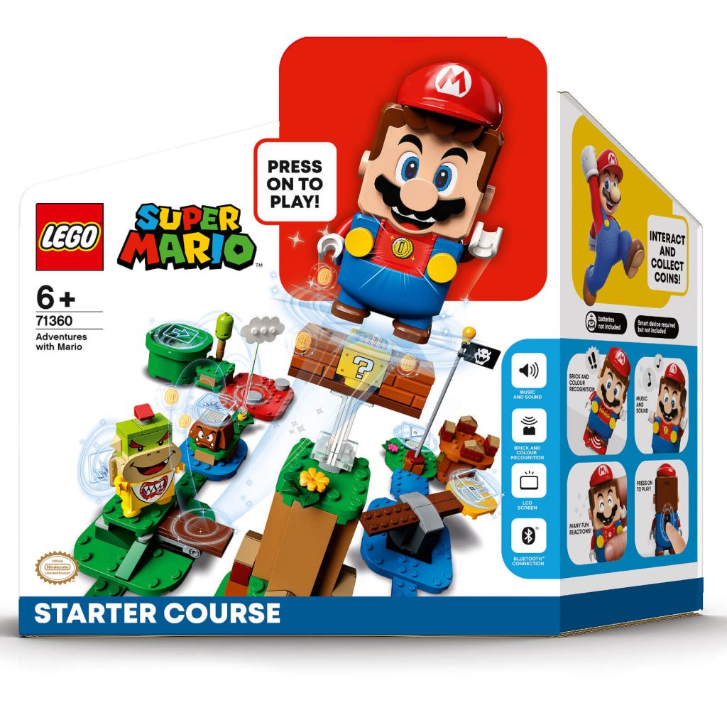 LEGO Super Mario 71360 Adventures With Mario Box