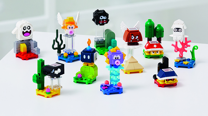 LEGO Super Mario 71361 Character Packs Featured