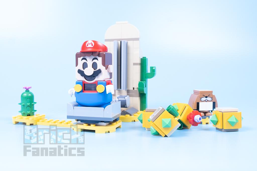 LEGO Super Mario 71363 Desert Pokey 7