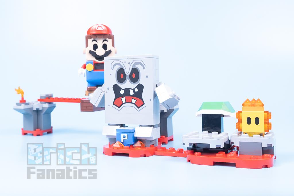 LEGO Super Mario 71364 Whomps Lava Trouble 3