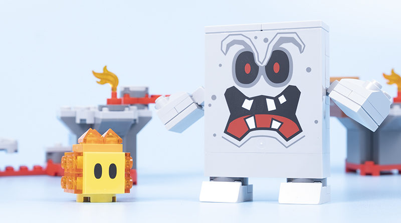 LEGO Super Mario 71364 Whomps Lava Trouble Featured 800x445