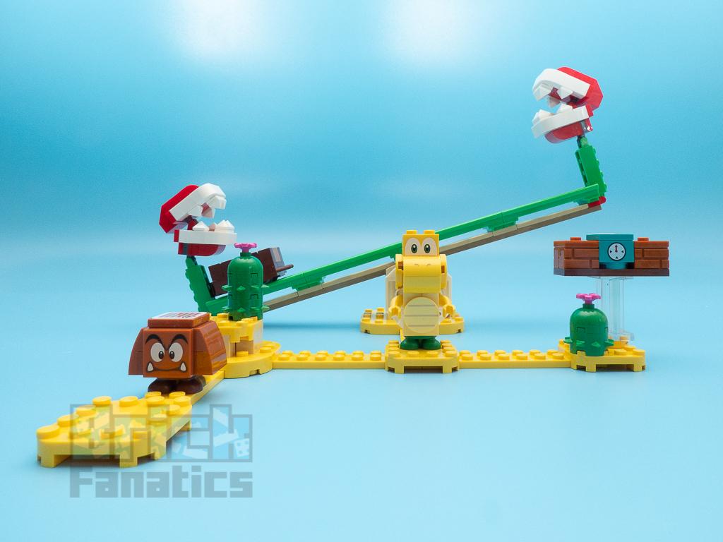 LEGO Super Mario 71365 Piranha Plant Power Slide 1