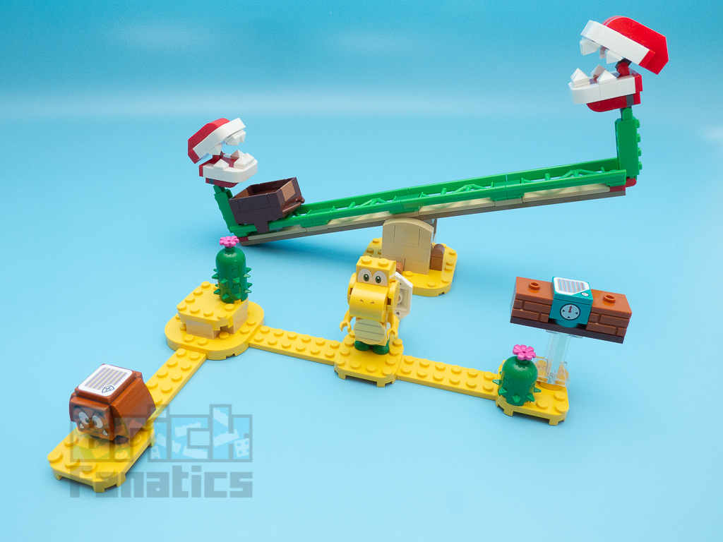 LEGO Super Mario 71365 Piranha Plant Power Slide 4
