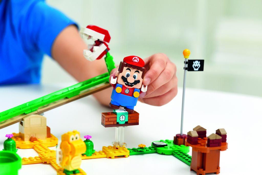 LEGO Super Mario 71365 Piranha Plant Power Slide Expansion Set 1