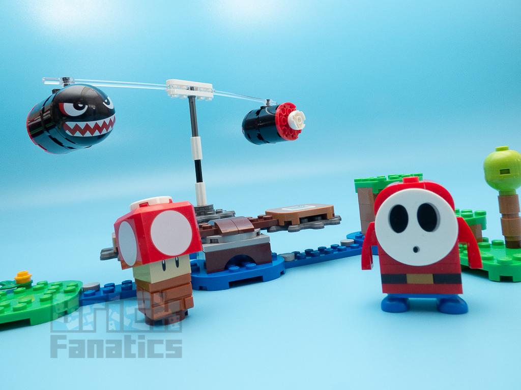 LEGO Super Mario 71366 Boomer Bill Barrage Expansion Set 9