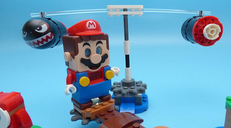 LEGO Super Mario 71366 Boomer Bill Barrage Expansion Set Featured 800x445