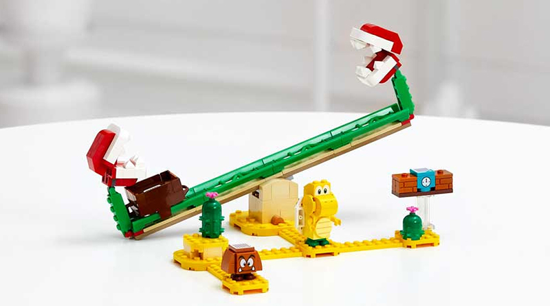 LEGO Super Mario 71366 Piranha Plant Power Slide Expansion Set Featured