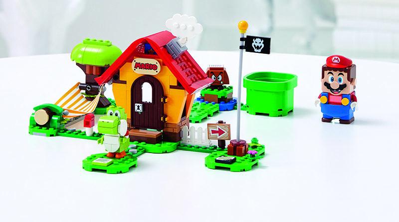 LEGO Super Mario 71367 Marios House Yoshi Expansion Set featured