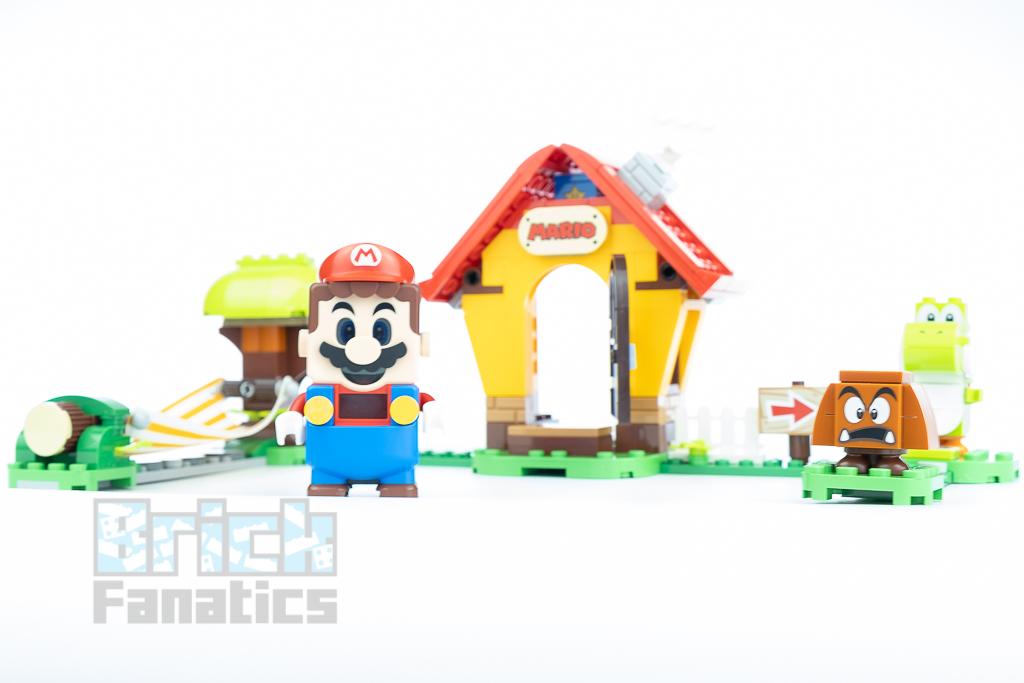 LEGO Super Mario 71367 Marios House Yoshi B 2
