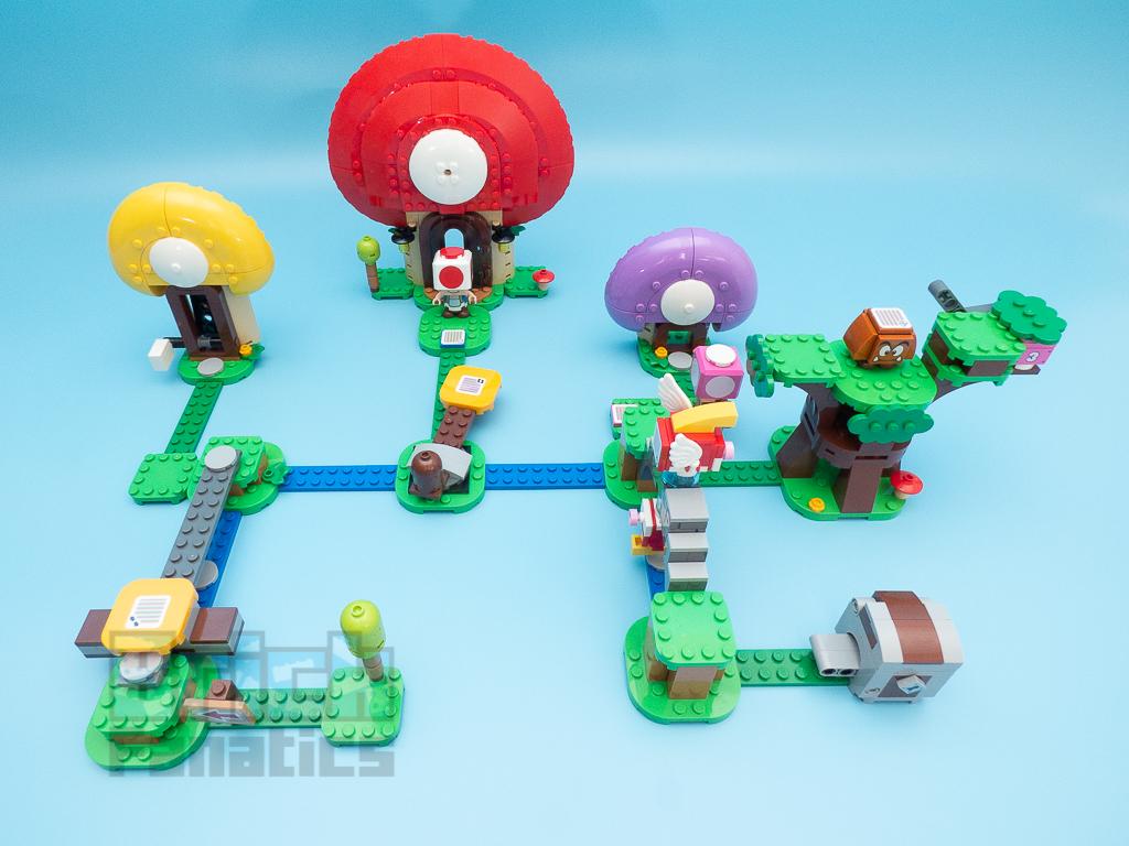LEGO Super Mario 71368 Toads Treasure Hunt Expansion Set 2 1