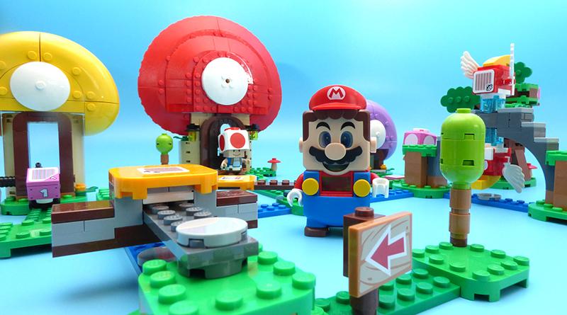 LEGO Super Mario 71368 Toads Treasure Hunt Expansion Set Featured