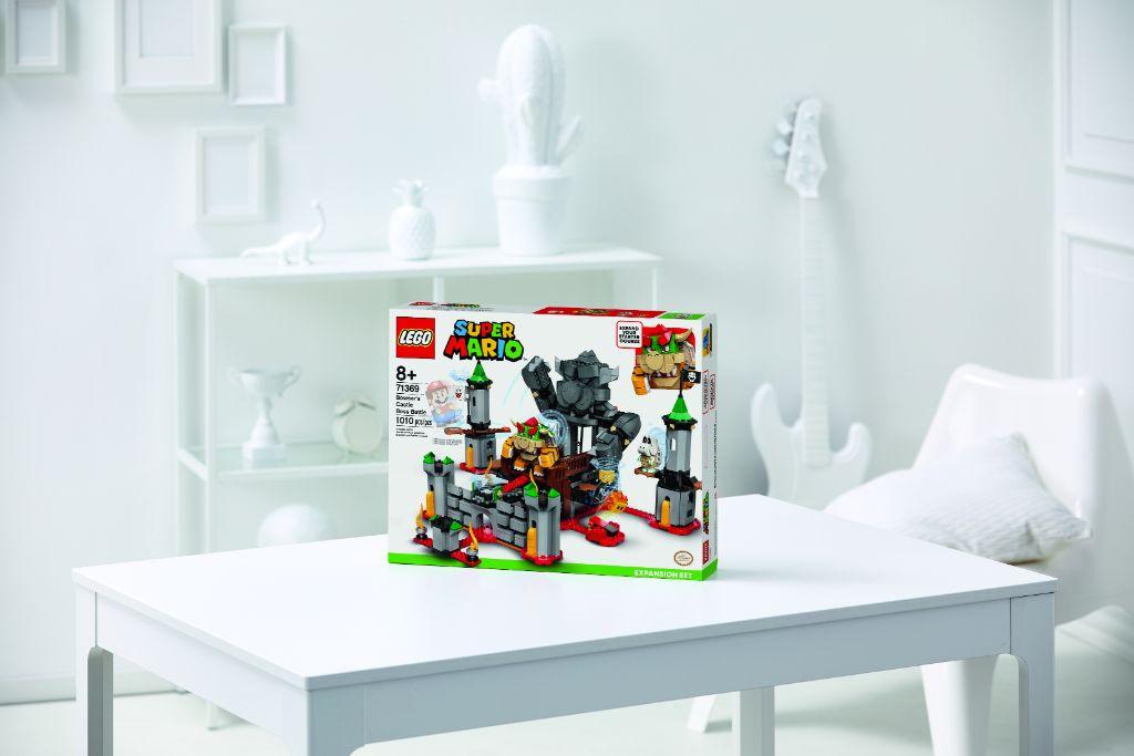 LEGO Super Mario 71369 Bowsers Castle Boss Battle Expansion Set 3