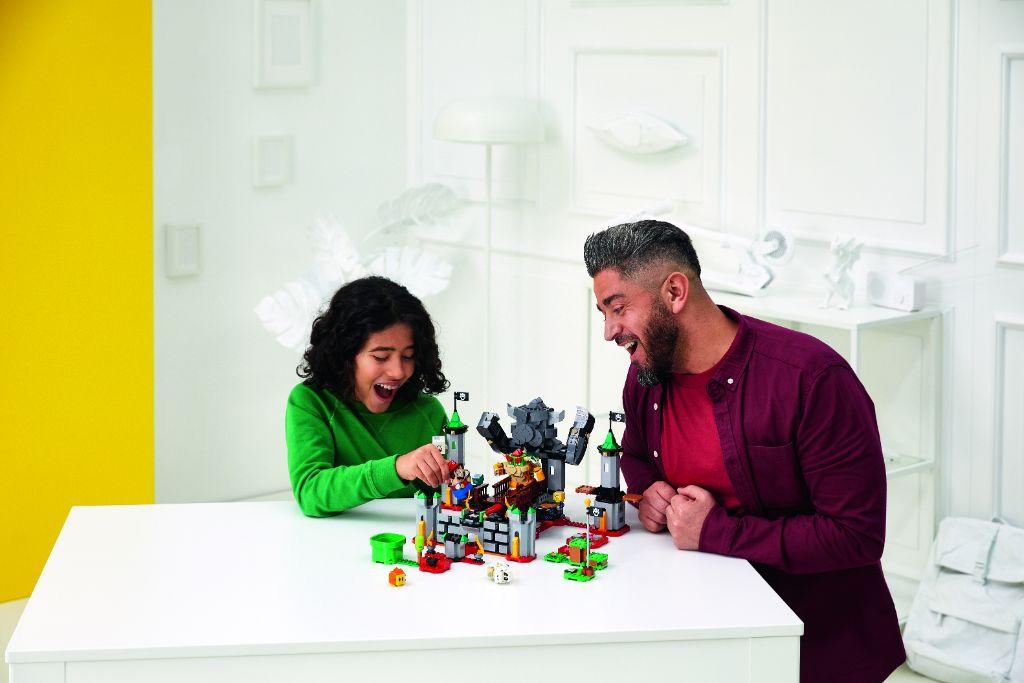 LEGO Super Mario 71369 Bowsers Castle Boss Battle Expansion Set 5