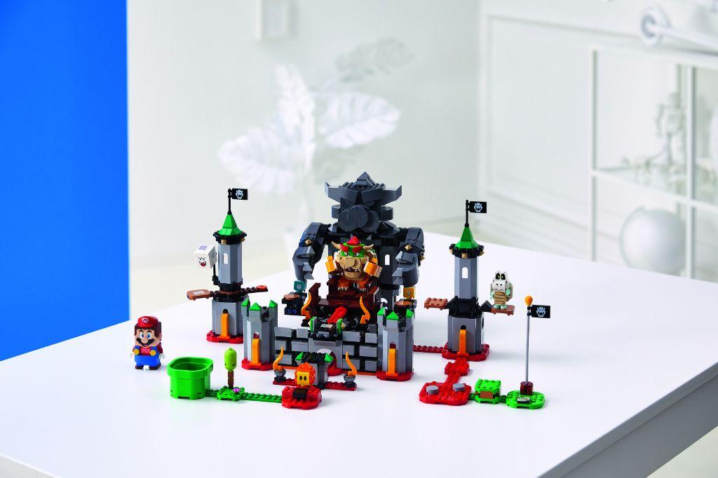 LEGO Super Mario 71369 Bowsers Castle Boss Battle Expansion Set 6