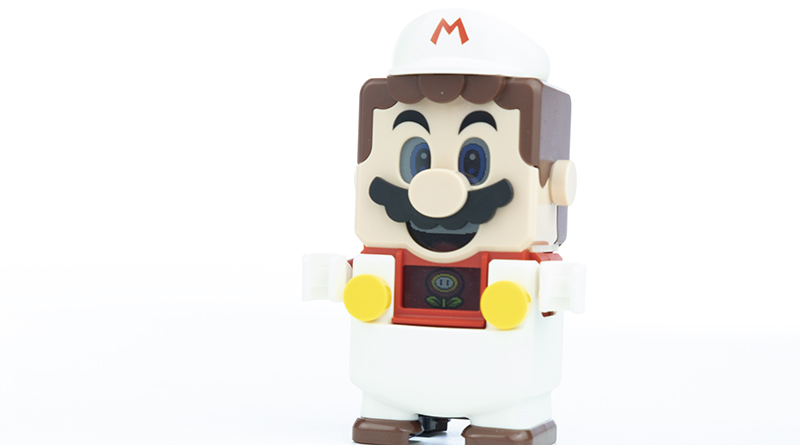 LEGO Super Mario 71370 Fire Mario Power Up Pack Featured