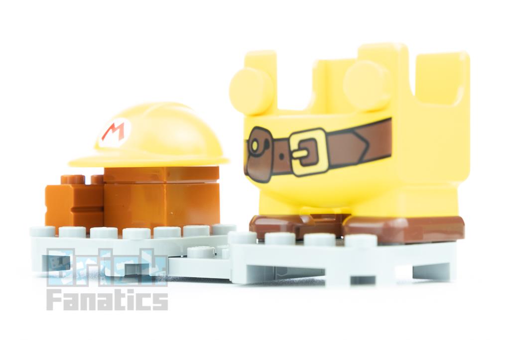 LEGO Super Mario 71373 Builder Mario Power Up Pack 4