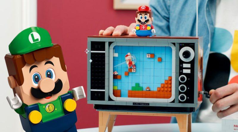 LEGO Super Mario 71374 Nintendo Entertainment System Luigi featured 2