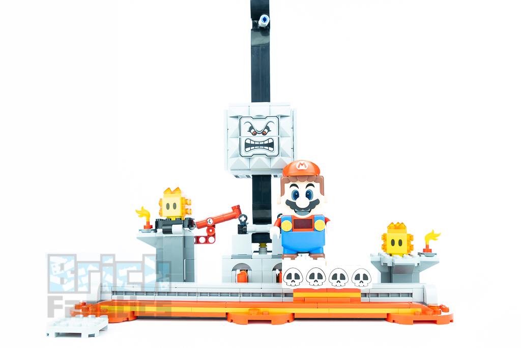 LEGO Super Mario 71376 Thwomp Drop 16