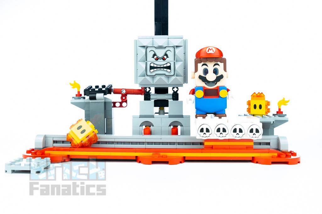 LEGO Super Mario 71376 Thwomp Drop 17