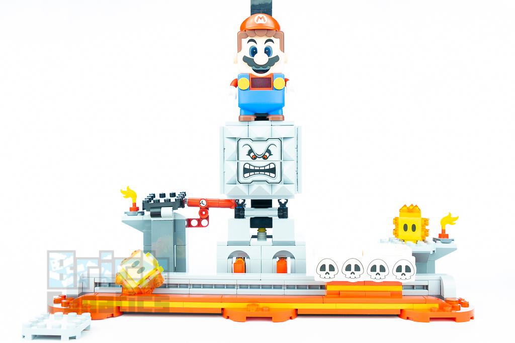 LEGO Super Mario 71376 Thwomp Drop 18