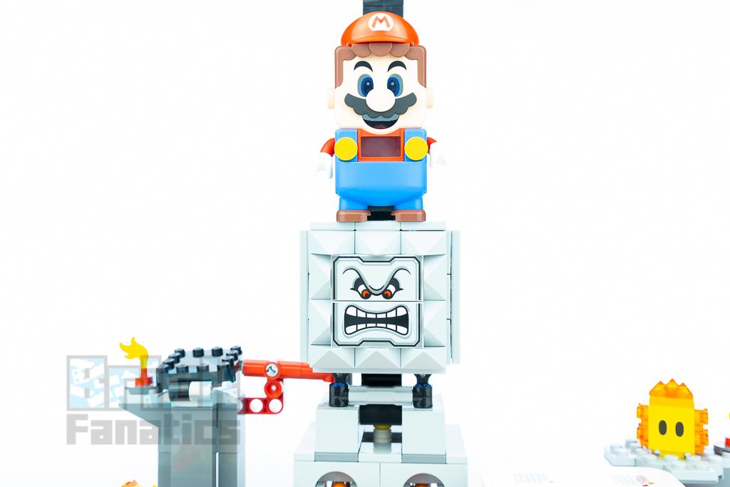 LEGO Super Mario 71376 Thwomp Drop 19