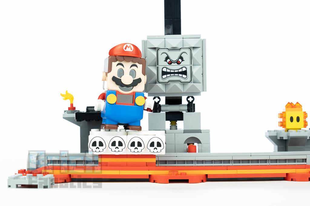 LEGO Super Mario 71376 Thwomp Drop 29