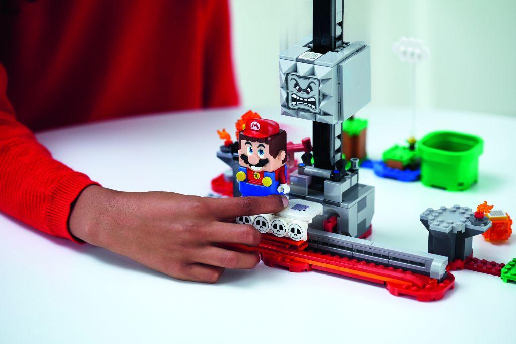 LEGO Super Mario 71376 Thwomp Drop Expansion Set 2