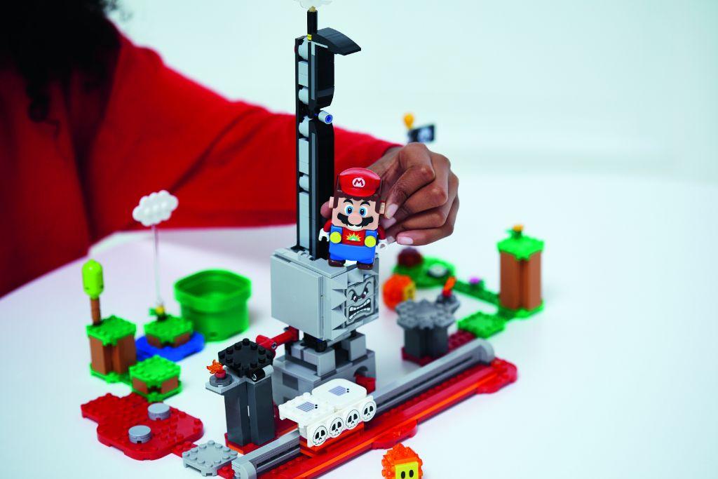 LEGO Super Mario 71376 Thwomp Drop Expansion Set 3