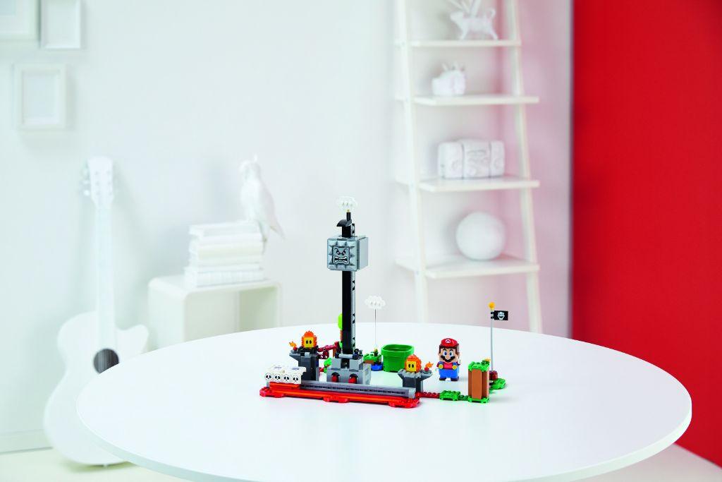 LEGO Super Mario 71376 Thwomp Drop Expansion Set 5