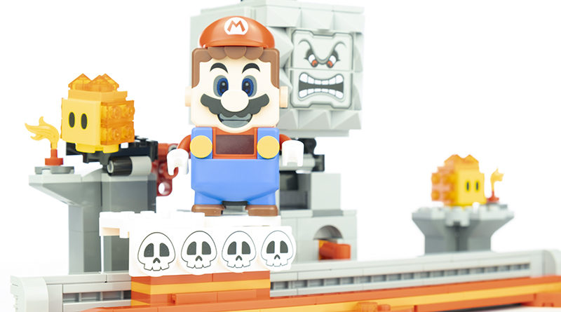 LEGO Super Mario 71376 Thwomp Drop Featured 800x445