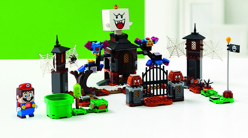 LEGO Super Mario 71377 King Boo and the Haunted Yard Expansion Set featured