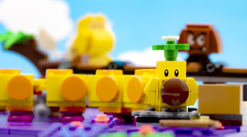 LEGO Super Mario 71383 Wigglers Poison Swamp Featured RESIZED