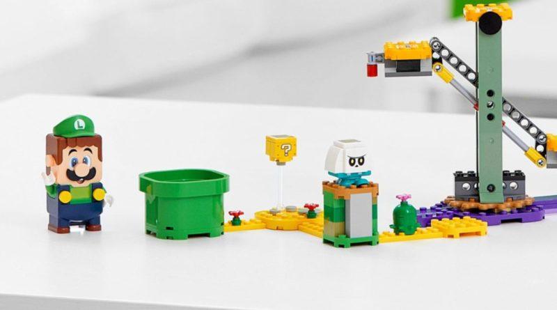 LEGO Super Mario 71387 Adventures With Luigi Starter Course lifestyle controller featured