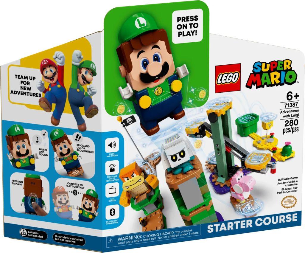 LEGO Super Mario 71387 Adventures with Luigi Starter Course 2