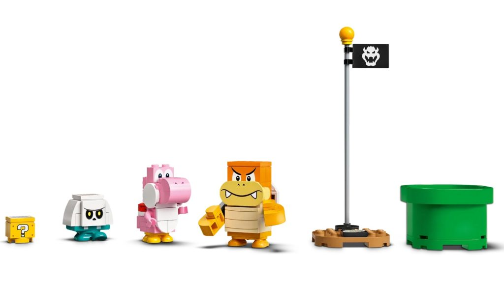 LEGO Super Mario 71387 Adventures With Luigi Starter Course 8