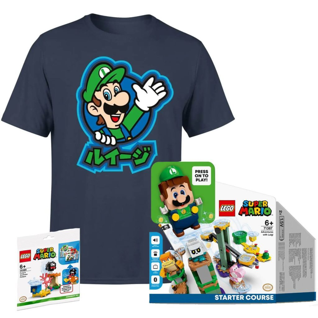 LEGO Super Mario 71387 Adventures with Luigi Starter Course Zavvi 1