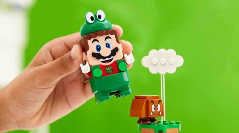 LEGO Super Mario 71392 Frog Mario Power Up Pack featured