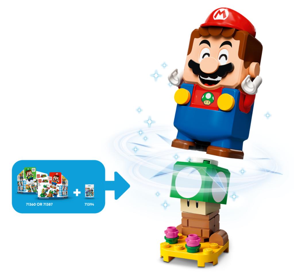LEGO Super Mario 71394 Character Packs – Series 3 action shot