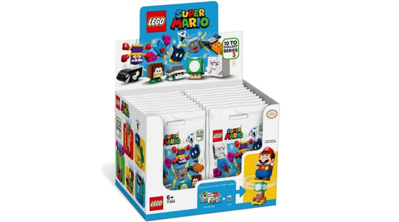 LEGO Super Mario 71394 Character Packs Series 3 box featured