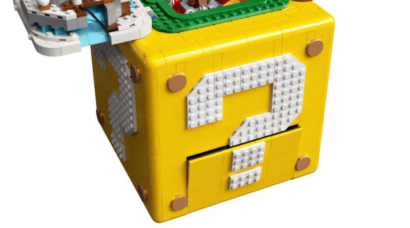 LEGO Super Mario 71395 Super Mario 64 Question Mark Block key image featured