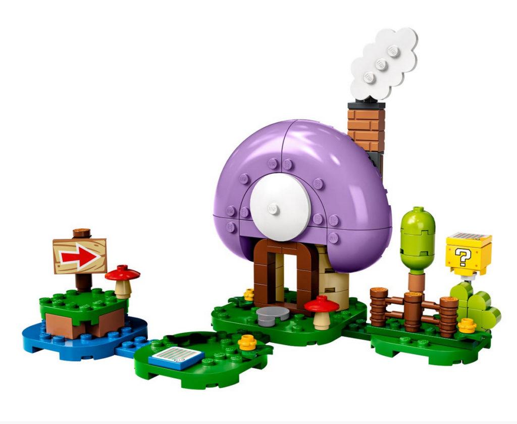 LEGO Super Mario 77907 Toads Special Hideaway 1