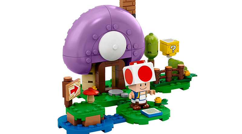 LEGO Super Mario 77907 Toads Special Hideaway Expansion Featured