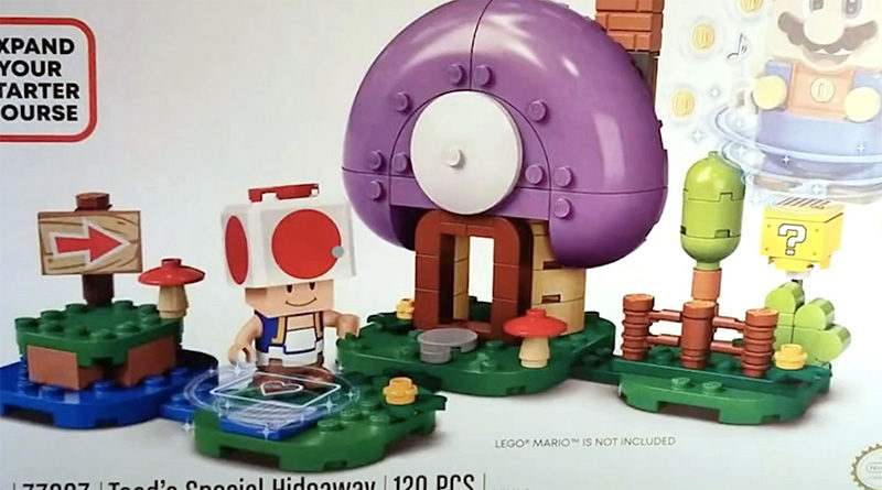 LEGO Super Mario 77907 Toads Special Hideaway Featured 800x445
