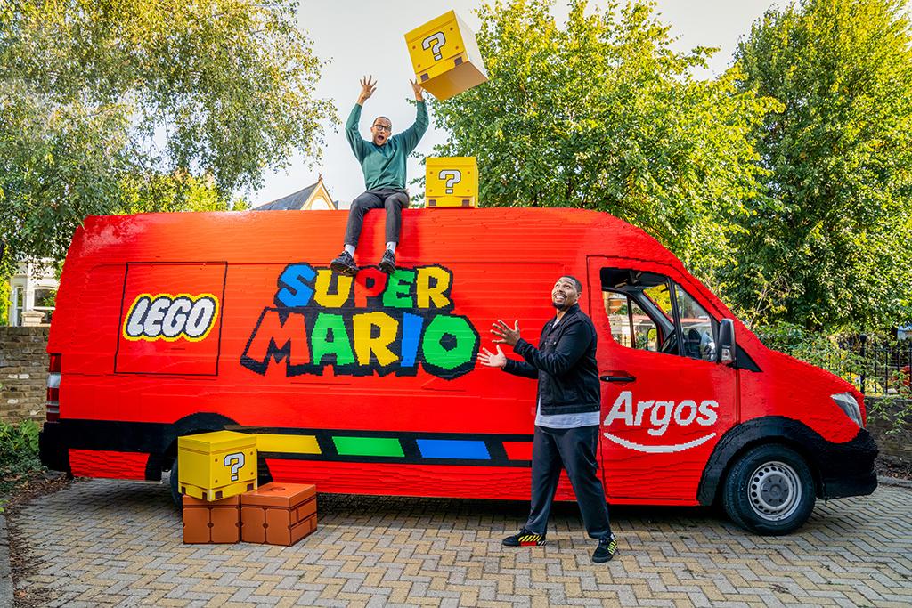 LEGO Super Mario Diversity Van