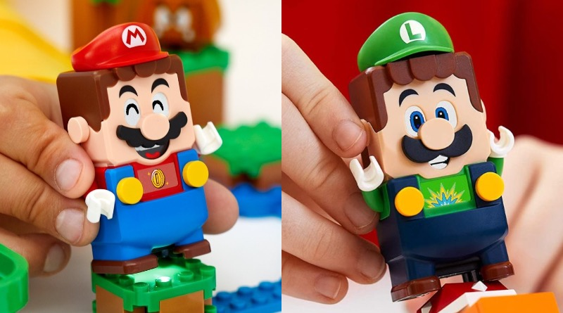 LEGO Super Mario Luigi Comparison Featured