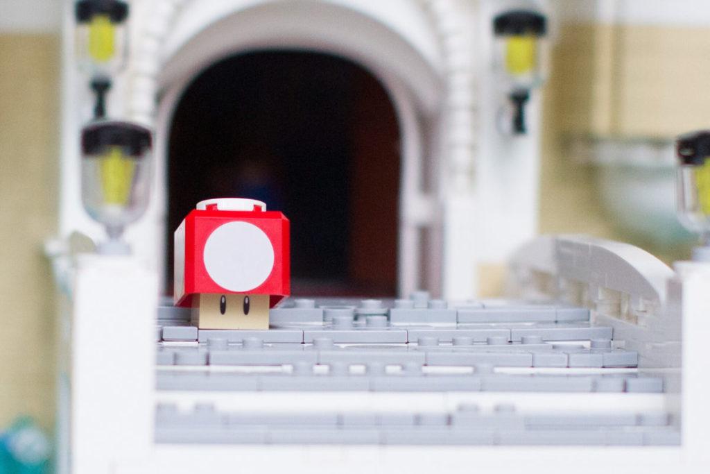 LEGO Super Mario Peachs Castle Eurobricks build 2
