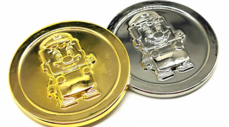 LEGO Super Mario coins featured