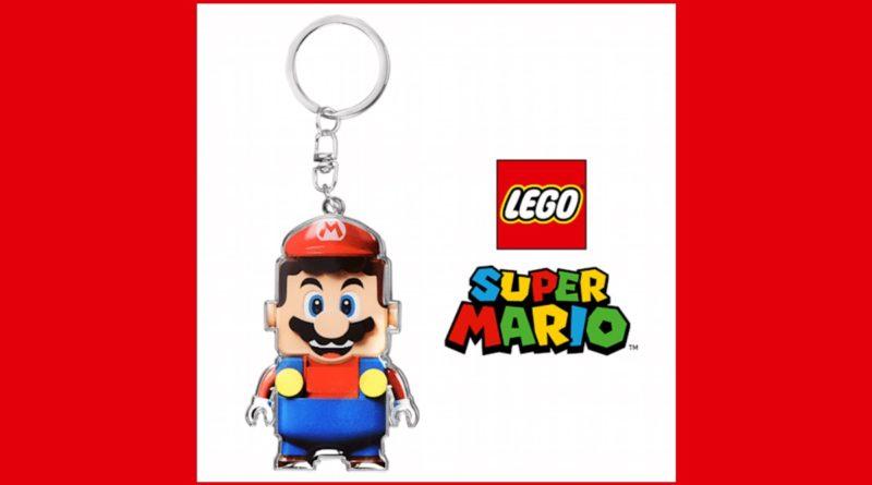 LEGO Super Mario keychain featured