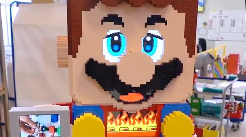 LEGO Super Mario Oversized Statue Featured