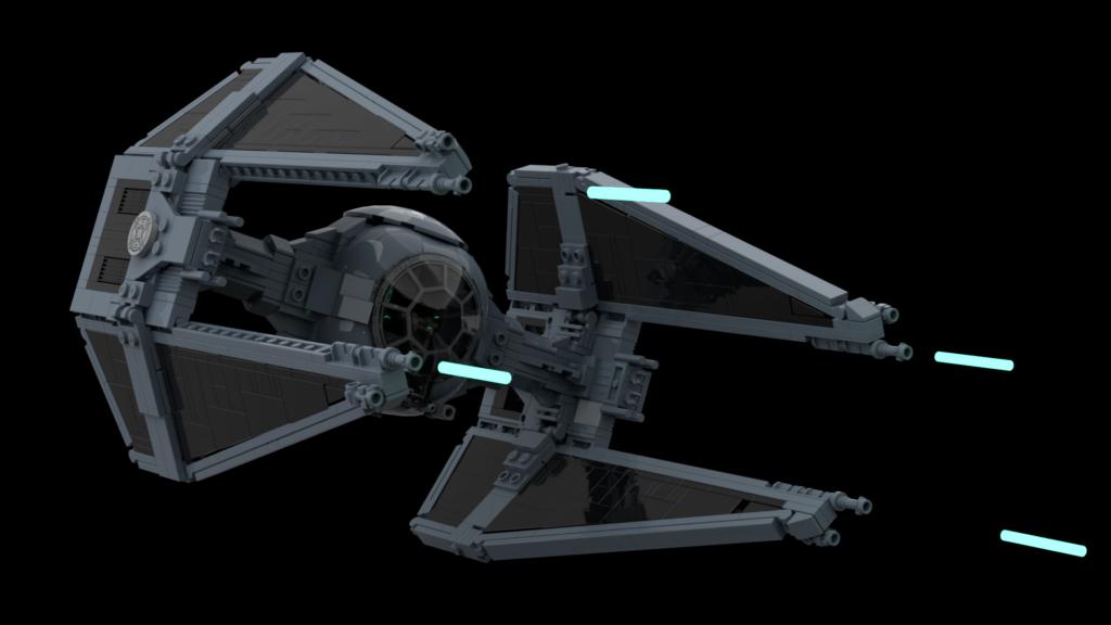 LEGO TIE Interceptor BrickVault